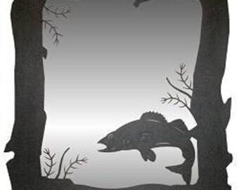 Vertical Mirror - Walleye Design