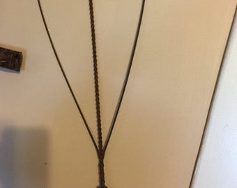 Antique Wire Heart Shape Rug Beater