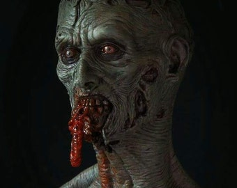 Zombie eating guts