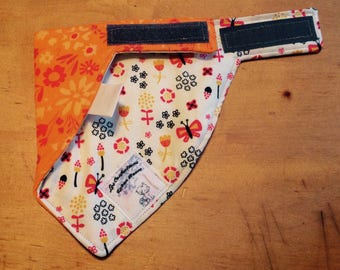 lined with terrycloth reversible bib