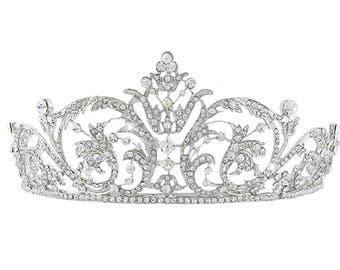 Stunning Austrian Crystal Princess Tiara