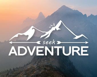 Adventure Vinyl Decal