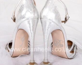 Clean Heels Diamante I DO Stickers