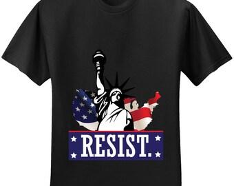 Resist Black T-shirt