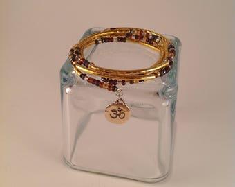 Asian Charm wrap Bracelet