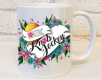 Insult C*nting K*ob Jockey Mug, Sweary Mug, Offensive Mug, Insulting Mug, Swear Mug, Christmas Mug, Birthday Mug, Profanity Gifts, Mugs.