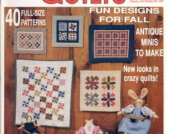 Miniature Quilts -Fall, 1991 Issue