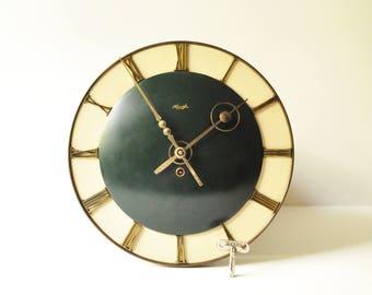 1930's Art Deco Kienzle Wall Clock Clockwork Wall Clock - Made in Germany