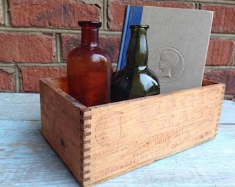 Rustic Magic Yeast wooden box
