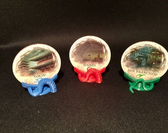 Eldritch Horror Gate Stands (set of 12 - 4 red/blue/green)