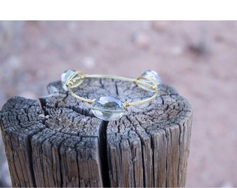 Shimmery Cloud Bangle