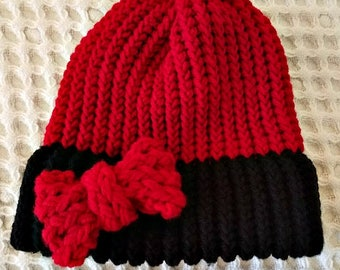Bow - Knit Hat