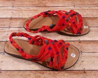 Handmade cloth sandals