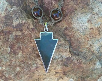 Arrow Hemp Necklace