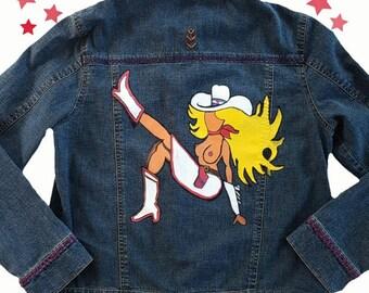 GLITTER GULCH Denim Jacket