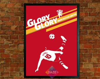 Manchester United Poster - Wayne Rooney