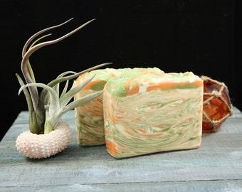 Kumquat - Citrus - Handcrafted-Soap - Artisan-Soap - Ocean Dream Soaps - Ocean Dream - Ocean - Bar soap - Cold Process