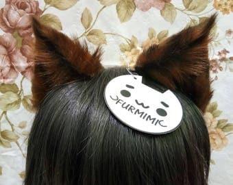 Cat Ears Brown
