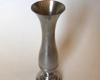 Pewter Vase Vintage   Small Decor Accent   Bud Vase   Steiff
