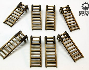 """3"""" Ladders for 28mm War Gaming"""