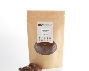 Mylk Chocolate Wafers Solid Melting Mylk Chocolate