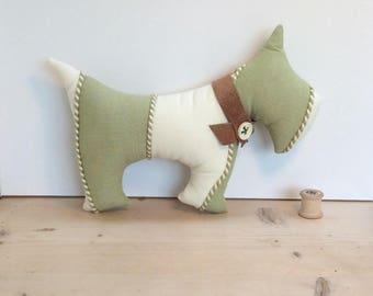 Scottie Dog - stuffed