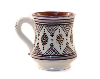 Berber Mug, Purple