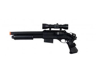 Double Eagle M47B2 Spring Airsoft Shotgun FPS-280 w/ Laser