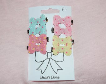 Multi-Pack Bow Hair Clips