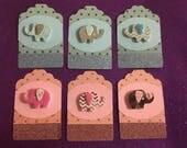 Baby Elephany Gift Tag