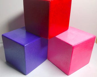 Simple Wooden Blocks