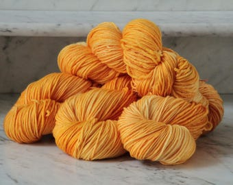 Orange Aid Handpainted Superwash Merino Wool Yarn