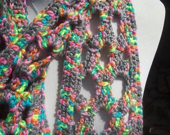 Stormfetti Infinity Scarf ** circular scarf, joined scarf, crochet scarf, cowl