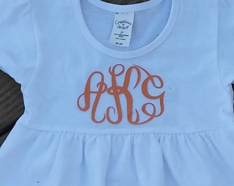 Toddler Monogram Dress