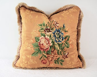 The French Gold collection: Flowerpot, cushion big, elegant, fine, luxury pillow pillow pillow, gift for him