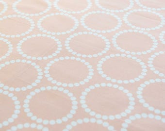Lizzy House Pearl Bracelets in Peach by fat quarter