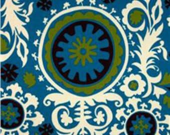 Blue Moon Suzani Out of Print Premier Prints Fabric no.071