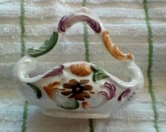 Bassano Miniature Porcelain Basket