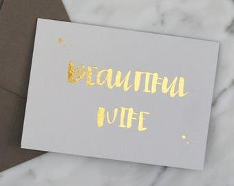 Valentines Card, Birthday Card, Wife Card, Anniversary Card.