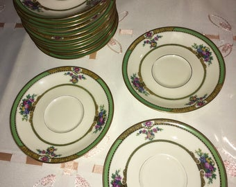 Rare Vintage Black Knight Maytime Huge Mix China Set. 92 Items total. Made in Hohenberg Bavaria Germany