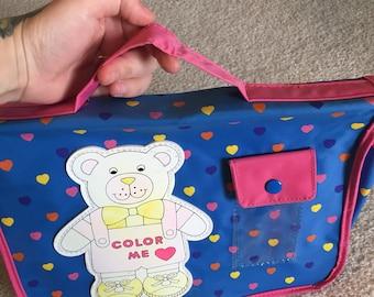 Vintage childrens school bag