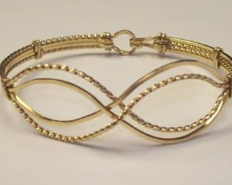 TY Bangles Handmade 14kt Gold Filled Bangle Bracelet
