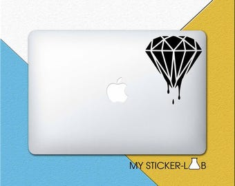 Blood Diamond Laptop Sticker Blood Diamond Laptop Decal Blood Diamond MacBook Decal Jewel Sticker Jewelry Dripping Blood Gem Stone m770