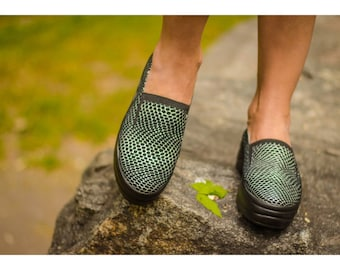 Slip ons Leather Shoes for Women Flat Shoes Casual Shoes Womens loafers