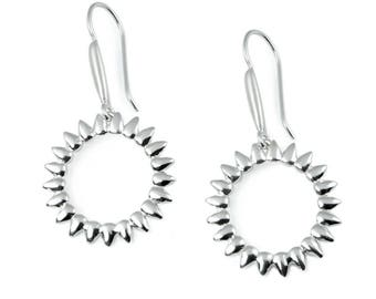 Boho Jewelry, Ethnic Gift, Silver Dangle, Bohemian Earrings, Boho Earrings, Boho Gift, Ethnic Jewelry, Ethnic Earrings, Silver Earrings