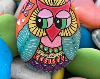 The Peeking Owl