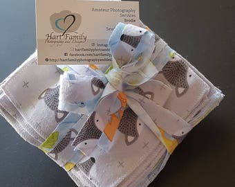 Cloth cotton flannel baby wipes