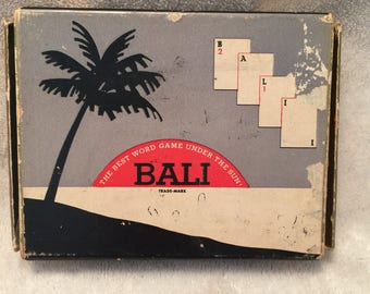 BALI The Best Word Game Under the Sun
