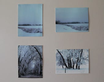 Winterscape Grouping of Photographs
