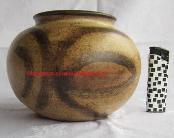 Danish studio pottery JC Lund pair of vases